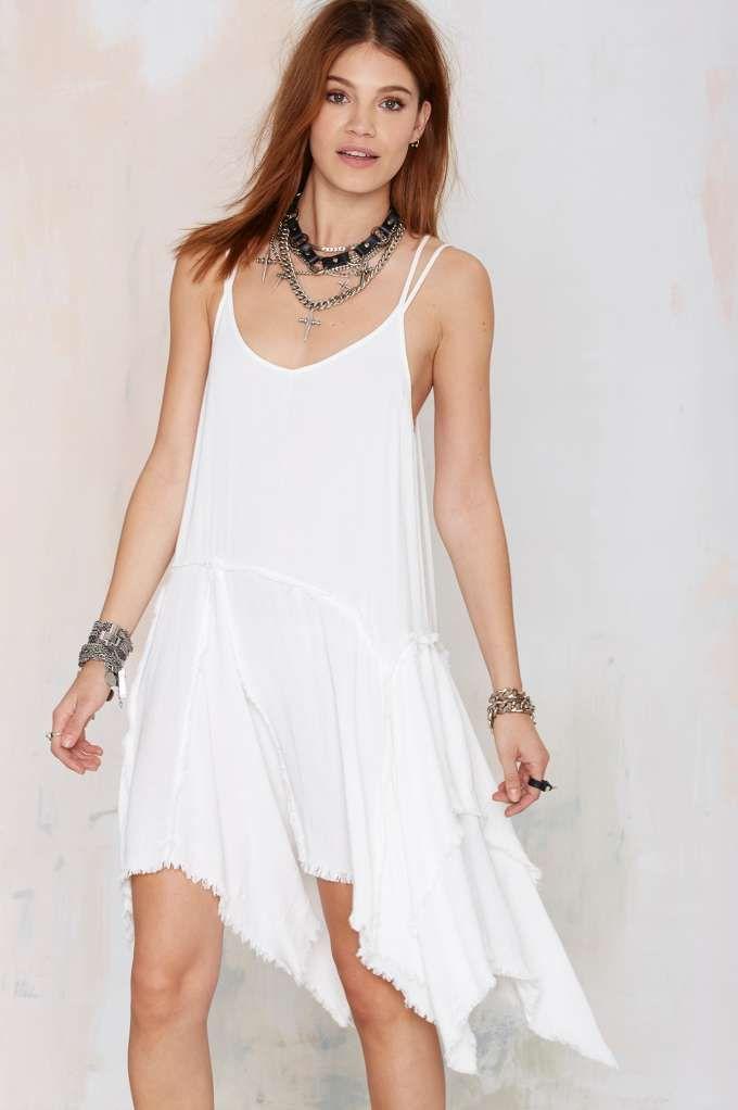 Don't Get Mad Frayed Dress
