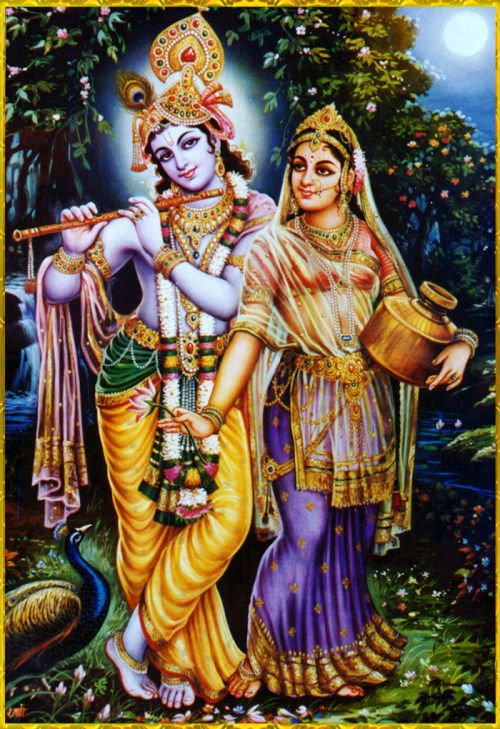 """♥ RADHA KRISHNA ♥""""O Lord of Shrimati Radharani, I am Yours; my actions, mind and words. O lover of Shri Krishna, Shrimate Radharani, I belong to You alone. You both are my only shelter. O Radha and Krishna, ocean of mercy, I am taking shelter of You. Please be pleased upon me and make me Your servant, although I am such a fallen offender."""""""