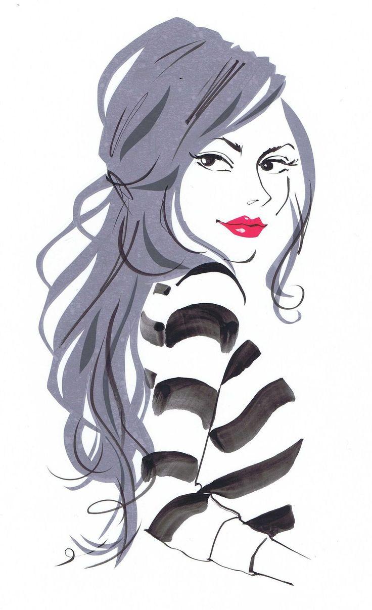RepixLikeView Pic · April FlairIllustration Jacqueline Bissett