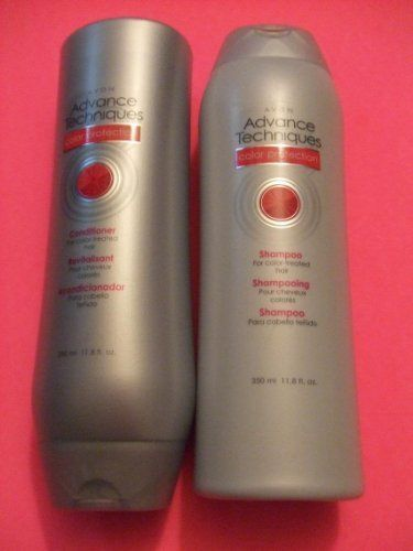 Advance Techniques Color Protection Shampoo & Conditioner Set by Avon. $6.24. shampoo & conditioner set. color protection. 11.8 oz. each. Fresh fruity scent shampoo and conditioner for colored or processed hair.