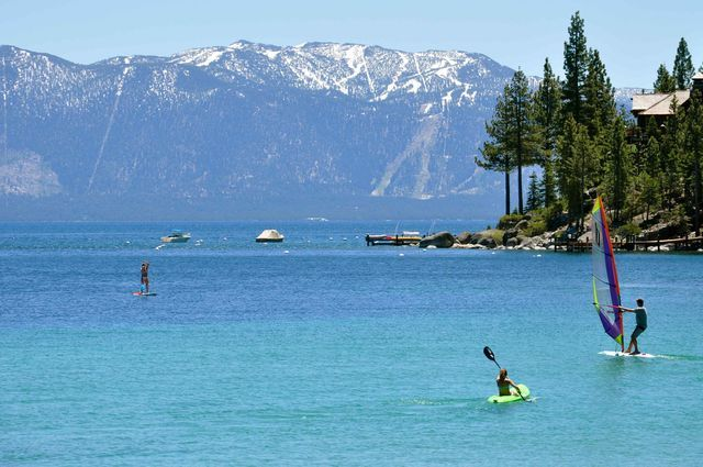 The Best Camping Spots in Lake Tahoe: Best Lake Tahoe Beach Camping: Meeks Bay Resort