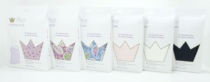 Littlemico Nursing Covers range - Classic & Summer 2014