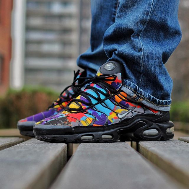 Nike Air Max Plus Fuse Neon Black
