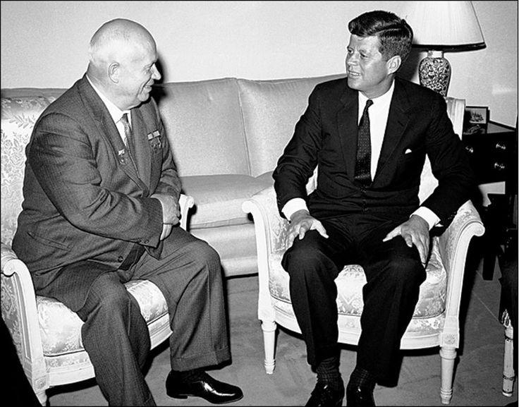 khrushchev and kennedy relationship test