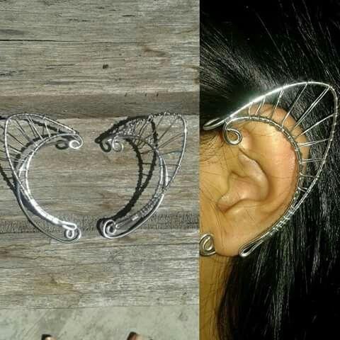 Elfearcuff3. 50rb. Yang mau dandan cantik ala peri, disini jual earcuff yang membuatmu terlihat menawan.  Adjustable. Alumunium. 1 pair.  #jualearcuff #elfearcuff #earcuff #cosplay #uniquejewelry #perhiasanunik #handmadejewelry #cosplayjewelry
