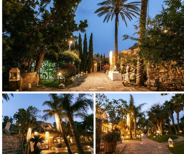 """""""È possibile innamorarsi a prima vista di un luogo come di una persona.""""  (Alec Waugh)  Parco Chiaramontano Location Matrimoni - Siculiana (AG)  #ricevimenti #matrimonio #sposi #castello #Agrigento #Siculiana"""