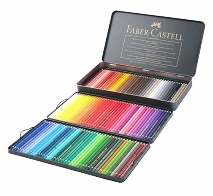 These pencils are renowned for their soft, vibrant colour laydown. They have a 3.8mm thick oil based lead and can be dry blended. The pencils feature high quality pigments which are both unsurpassably lightfast and acid free. | eBay!
