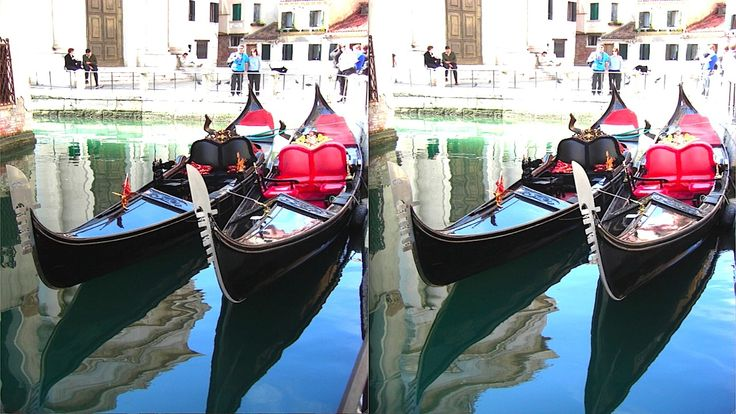 Venezia, Gondole allo stazio (x