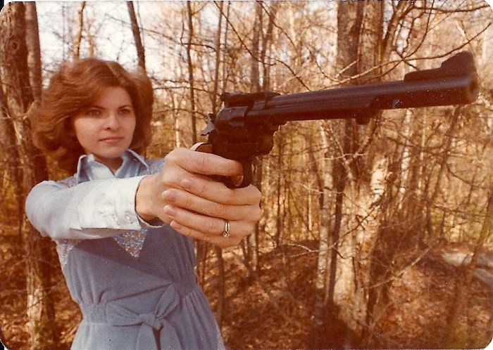 My Bad-Ass Mom In 1979