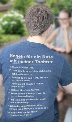 STIMMT! Hab ich keine Kinder jetzt, aber wenn ich eine Tochter habe, würde ich dieses T-Shirt tragen!