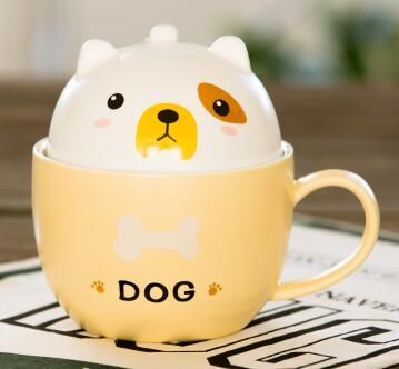 New products arriving in our store! Cafe Dog Ceramic ... is just too cute to resist. Click the link to see more: http://cuteftw.com/products/cafe-dog-ceramic-mug-with-lid?utm_campaign=social_autopilot&utm_source=pin&utm_medium=pin