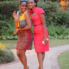 Fashion Bloggers Nancie Mwai and Sharon Mundia. Too much awesome in one picture