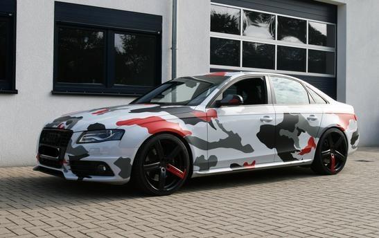 Audi A4 Custom >> Koi Camouflage | Transportation | Pinterest | Camouflage and Koi