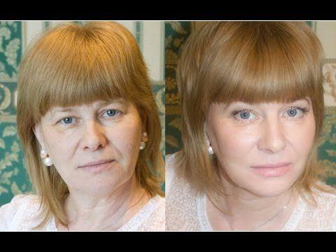 Возрастной макияж | Яна Проклина - YouTube