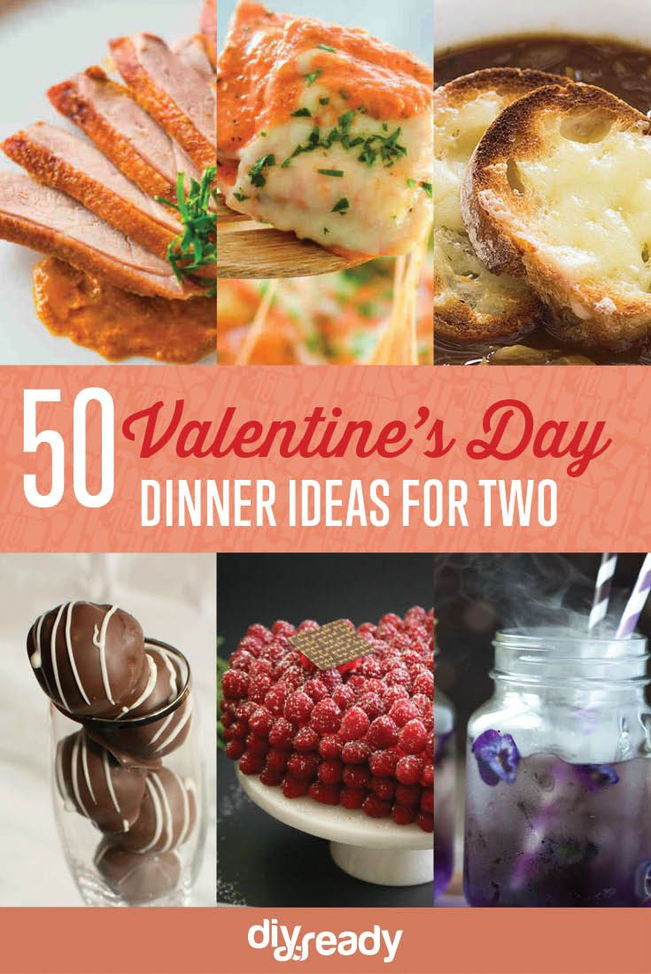 Choosing the right dishes for Valentine's day dinner can be a daunting task! Make him fall in love with these dinner ideas for two at home.