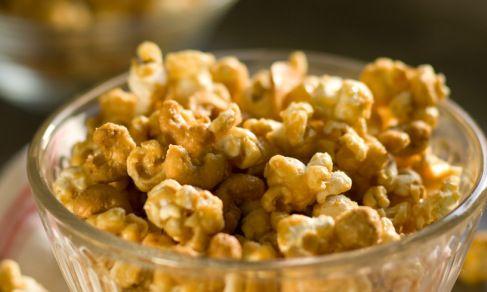 Cashew Butter Crunch Popcorn