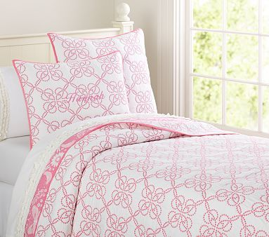 Hannah Quilted Bedding #pbkids