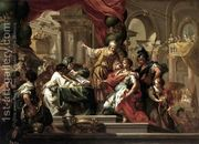 Alexander the Great in the Temple of Jerusalem  by Sebastiano Conca