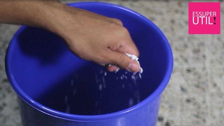 Como eliminar el mal olor en el bote de basura