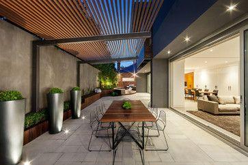 MALVERN HOUSE Melbourne Australia - contemporary - patio - melbourne - DDB Design Development & Building