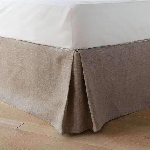 Image of the product Natural linen valance sheet