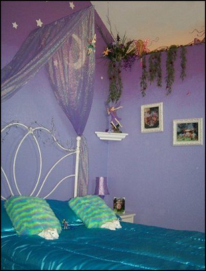 ... op Pinterest - Little mermaid kamer, Fee slaapkamer en Sterrenhemel