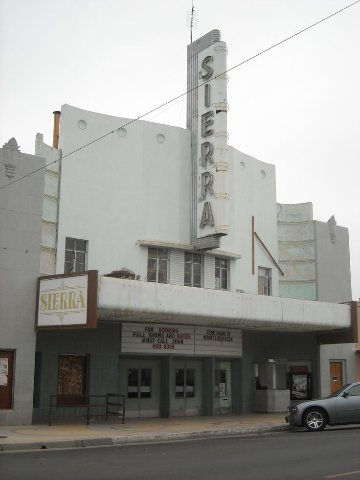 The Sierra Theatre, Delano, Kern County, California. DSMc.2012