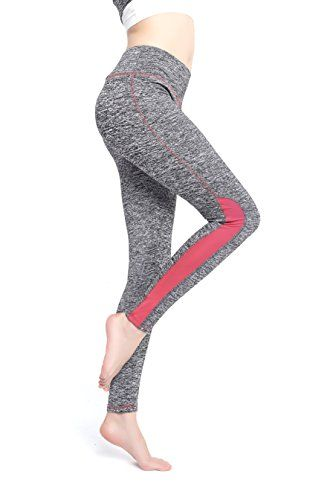 cb4b407d30 Women's Slim Fit Gym Yoga Workout Pants, Outdoor Active Tight 4 Way Stretch  Running Leggings, Perfect For Exercise, Fitness, any Type Of Workout, ...