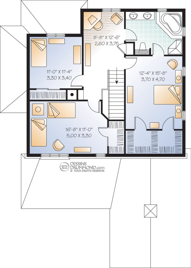 41 best Plans images on Pinterest Floor plans, Bedroom and
