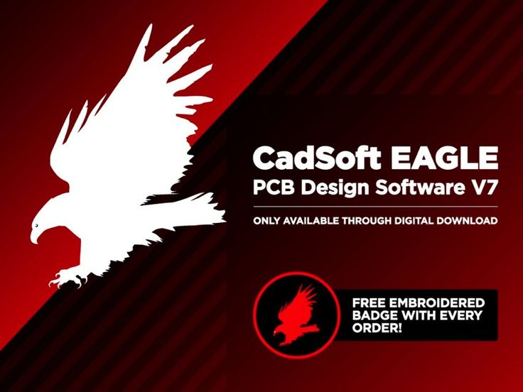 All Adafruit products are designed with CadSoft EAGLE PCB Design Software. Ladyada has made hundreds of designs with EAGLE! Whether you are a team of one, or part of a large engineering department, EAGLE provides quality PCB design software with the features that get the job done. You can get Eagle CAD from the Shop!
