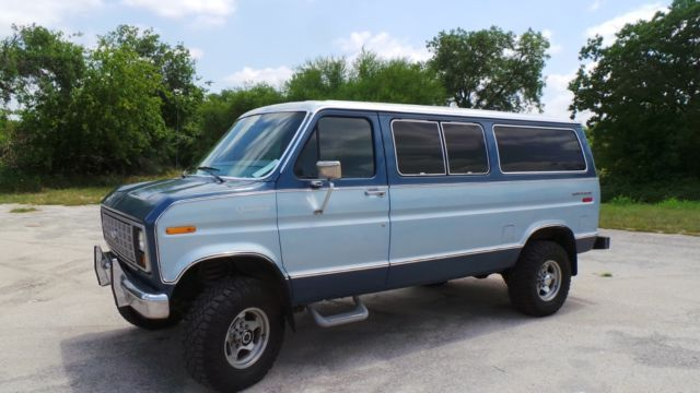 1981 FORD QUADRAVAN 4X4 FOUR WHEEL DRIVE E250, VERY NICE RIG!!!! for sale: photos, technical specifications, description