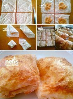 Yumuşacık Bohça Böreği (Patatesli)