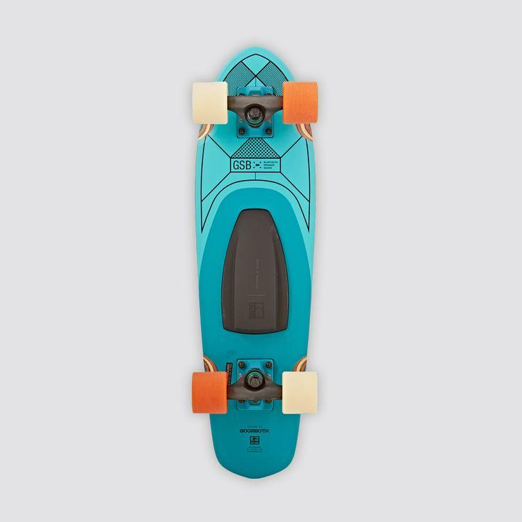 Globe GSB Blazer Bluetooth Speaker Teal Cruiser Skateboard. Pin-To-Win your Christmas wish list at Surfdome!