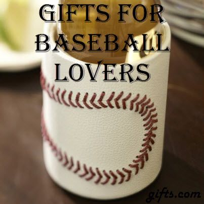 Gifts for Baseball Lovers. The World Series is just a few days away! Get your #Baseball fan excited for the festivities with some of our home run gift ideas: http://blog.gifts.com/gift-guides/gifts-for-baseball-lovers