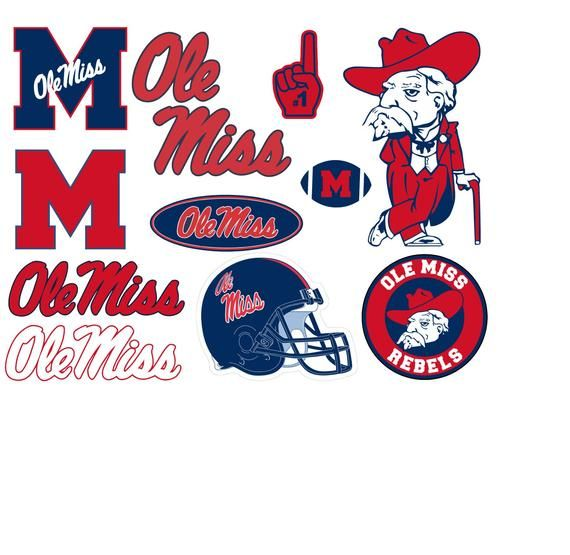 Pin By Sally Williams On College Ole Miss Basic Shapes Ole Miss Football