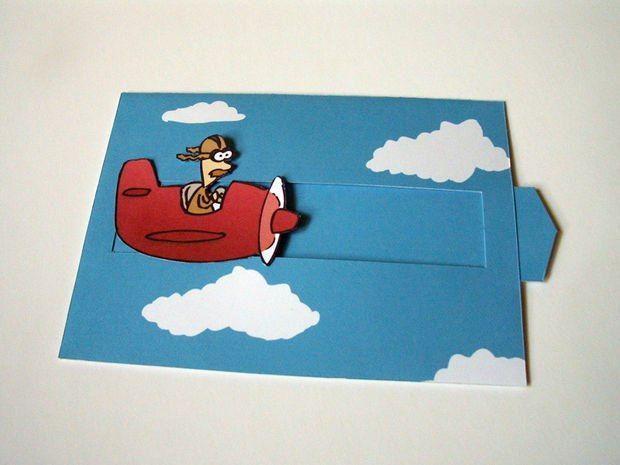 Двигающиеся открытки своими руками