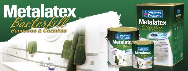 Metalatex Bacterkill Banheiros e Cozinhas