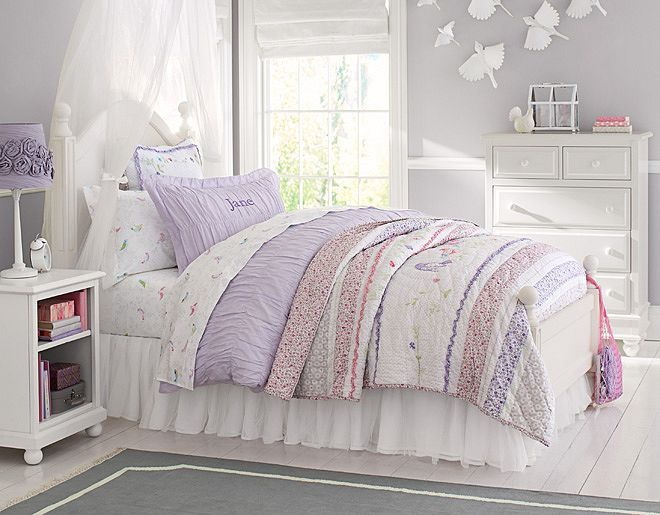 43 best images about pottery barn girl 39 s bedrooms on for Pottery barn kids room ideas
