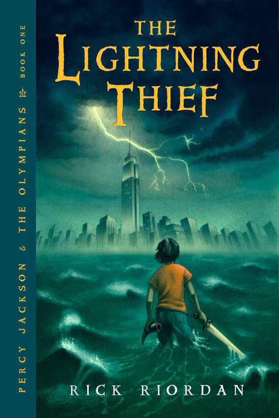 23 best rick riordan book covers images on pinterest book covers percy jackson and the olympians book 1 the lightning thief rick riordan fandeluxe Images
