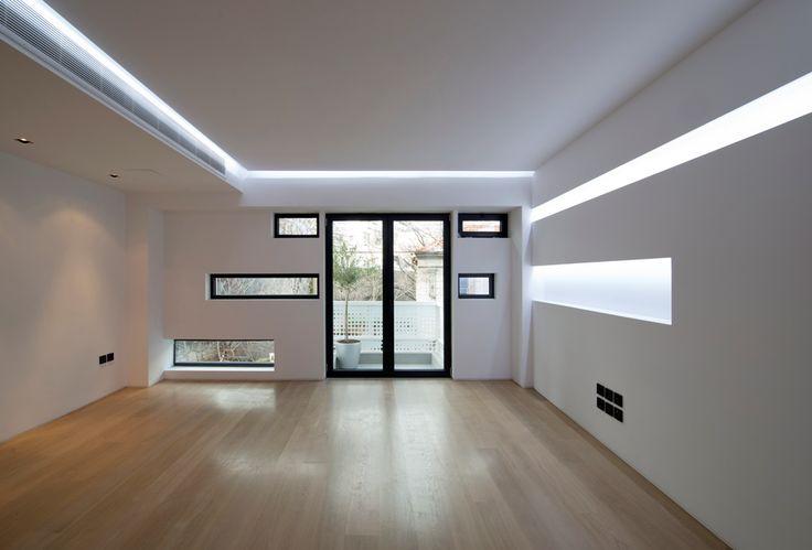 Urban stripes by KLab Architecture - interior