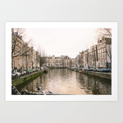 Canal 2 Art Print by Golden Sabine