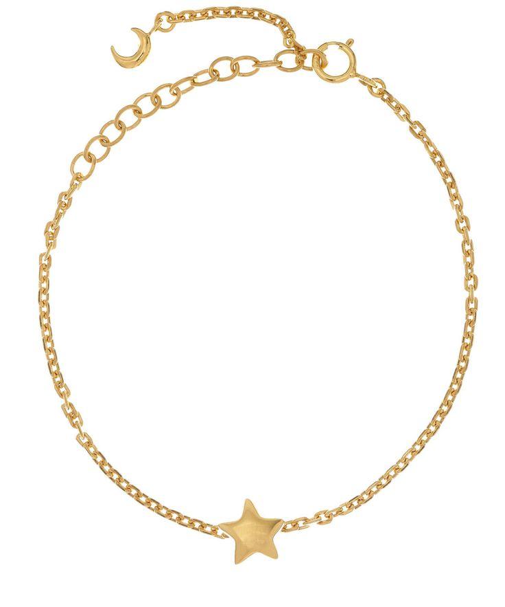 Dinny Hall Gold Vermeil Bijou Star Bracelet | Jewellery by Dinny Hall | Liberty.co.uk