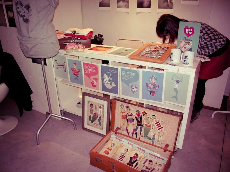 #Illustrazioni e oggetti di #PiratieSirene. #makeitprato #craft #design #artigiano #designer #livorno #graphics #pirate #mermaid
