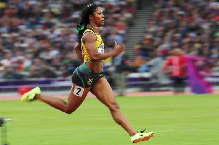 Shelly-Ann Fraser-Pryce: So much power!! Beautiful smile too