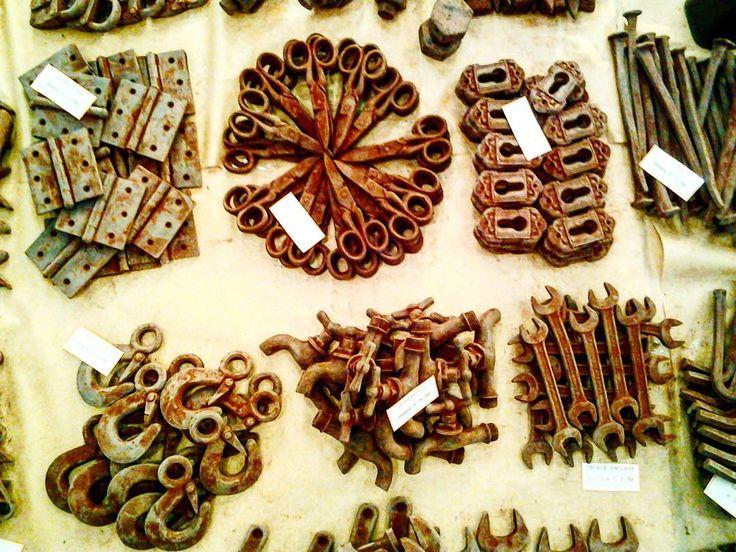I ferri del mestiere? Si  ma di cioccolato! #chocolart #chocolate #mostrartigianato #mostrart2015 #cioccolato #artigiano #artigianato