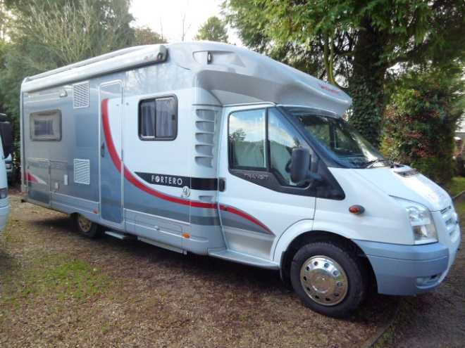 Dethleffs Fortero H6945, 4 berth, (2007) Second Hand  Motorhome for sale in Gloucestershire