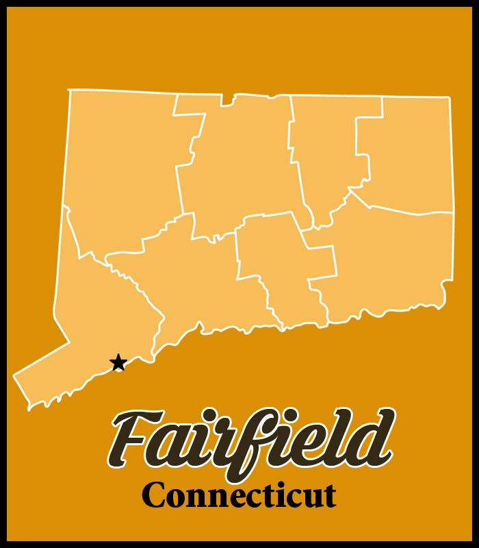 Fairfield is a town located in Fairfield County, Connecticut, United States. It borders the towns of Bridgeport, Trumbull, Easton, Weston and Westport along the Gold Coast of Connecticut. As of the 2010 census, the town had a population of 59,404. #SEO #WebDesign #Marketing