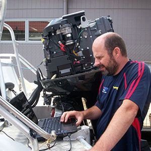 We have experienced technicians in our workshop, who are able to install, service and repair you outboards and boat accessories.