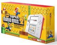 Nintendo 2DS - Scarlet Red with New Super Mario Bros 2 for Nintendo 3DS | GameStop