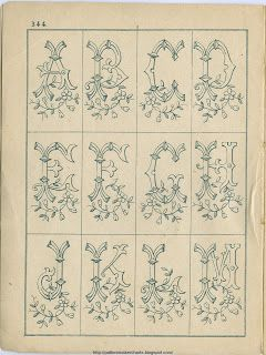 Free Easy Cross, Pattern Maker, PCStitch Charts + Free Historic Old Pattern Books: Sajou No 344: